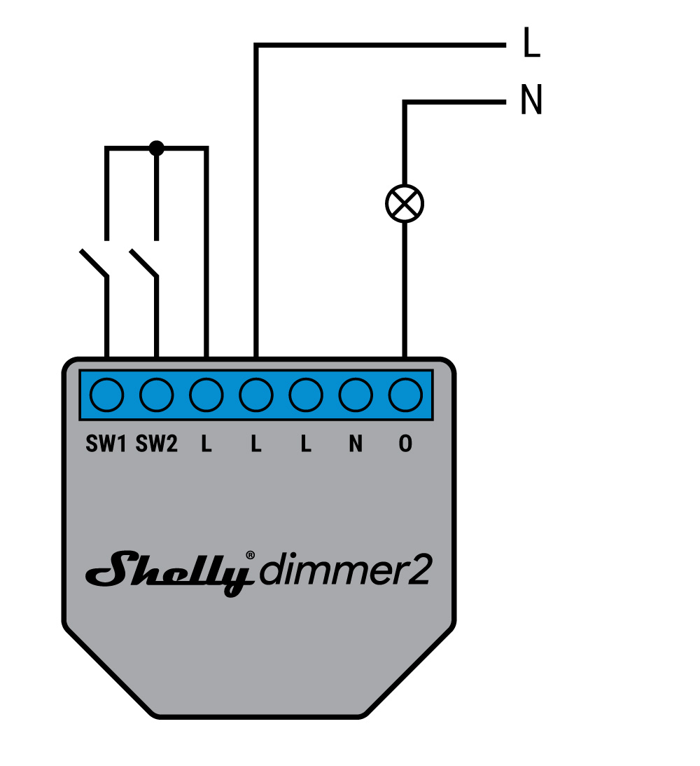 Dimmer from shelly.cloud